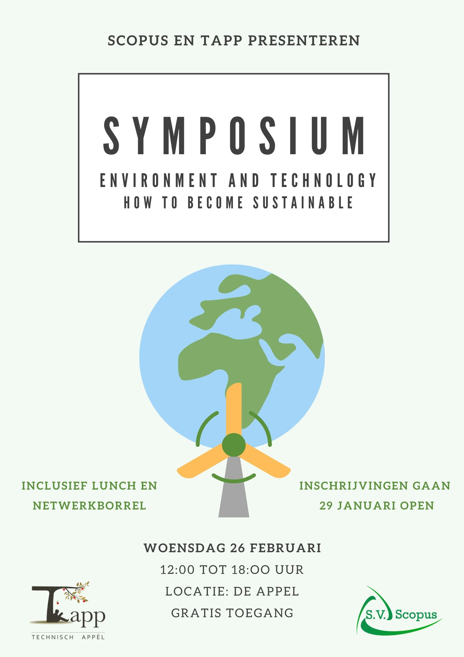 Symposium: Environment & Technology, How to become sustainable