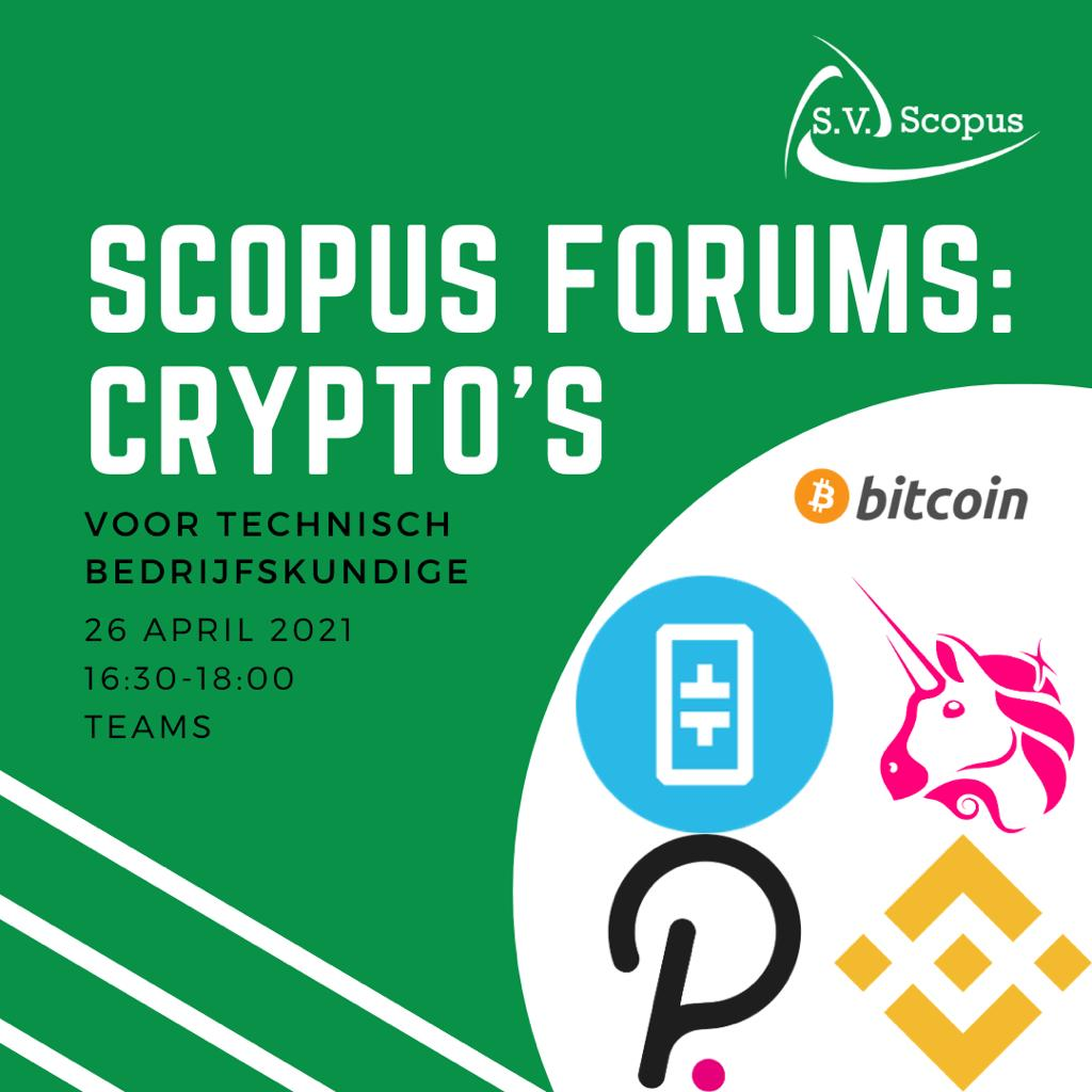 Scopus forums: Crypto's