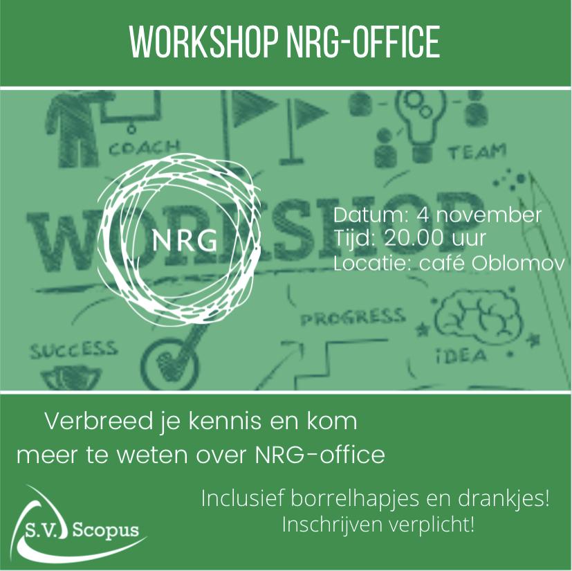 Workshop NRG-office