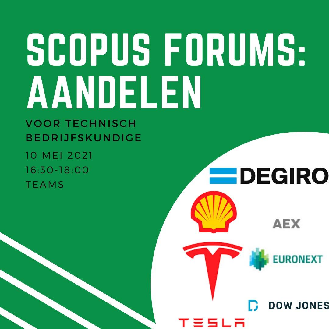 Scopus forums: Aandelen