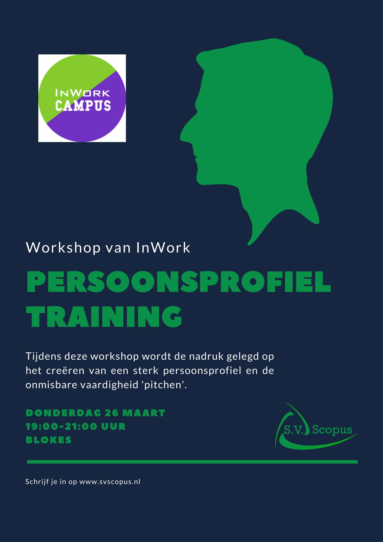 Workshop - Persoonsprofiel Training