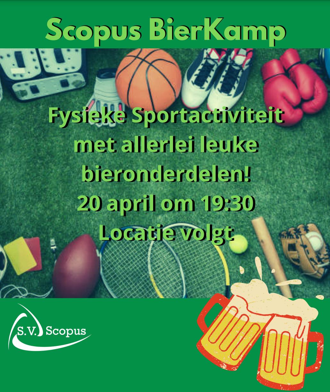 Sportactiviteit - Bierkamp
