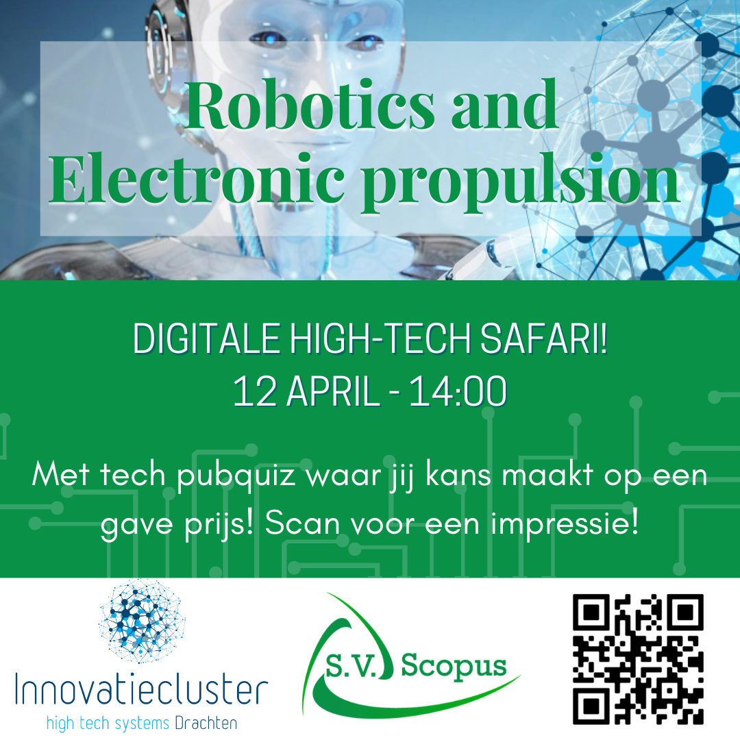 Digitale safari - Robotics and electronic propulsion